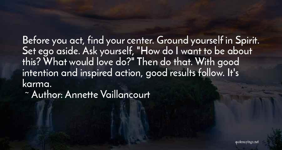 Spirit Love Quotes By Annette Vaillancourt