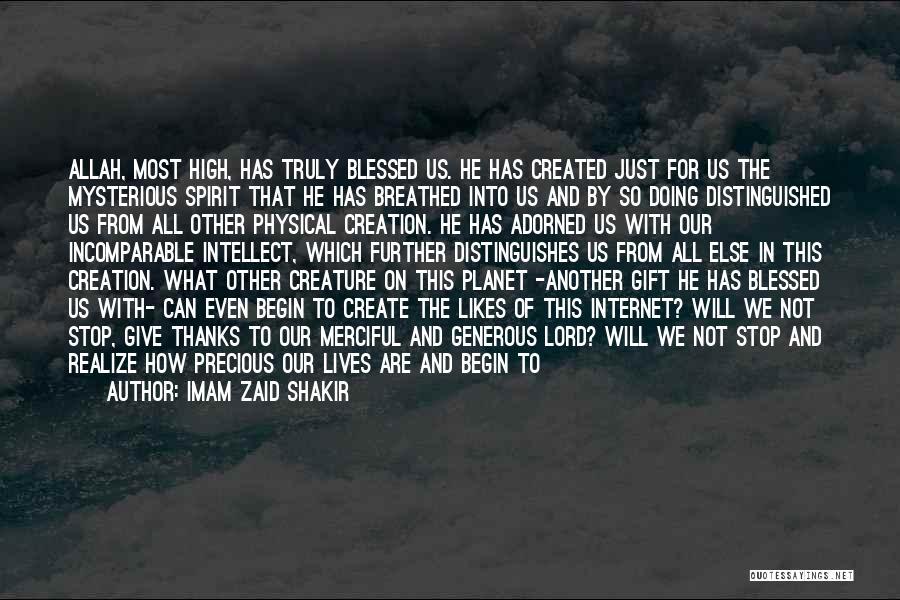 Spirit Love Quotes By Imam Zaid Shakir