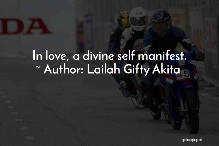 Spirit Love Quotes By Lailah Gifty Akita