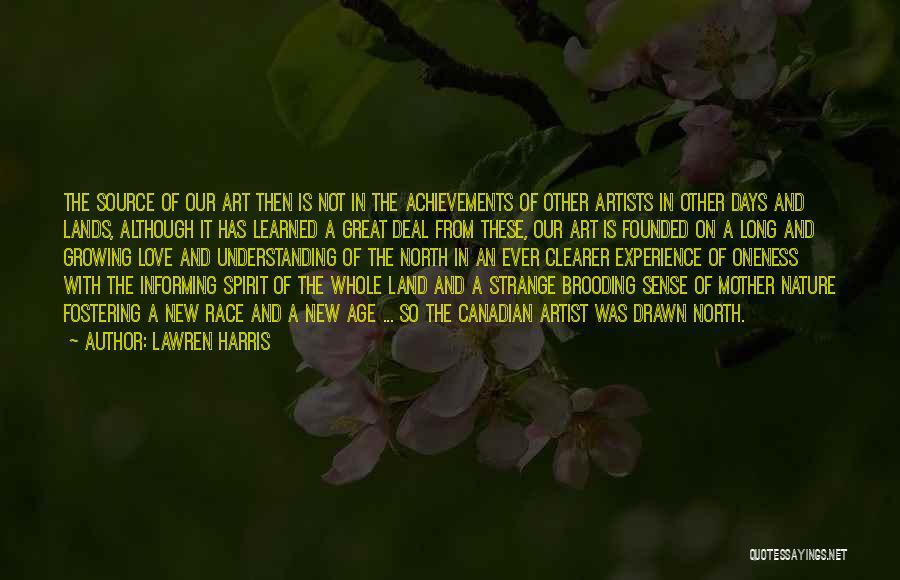 Spirit Love Quotes By Lawren Harris