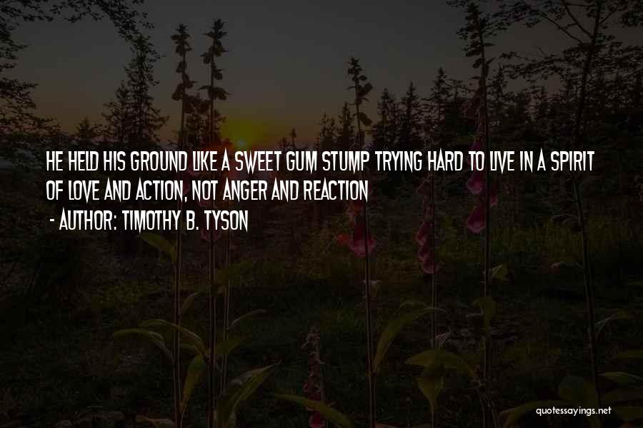 Spirit Love Quotes By Timothy B. Tyson
