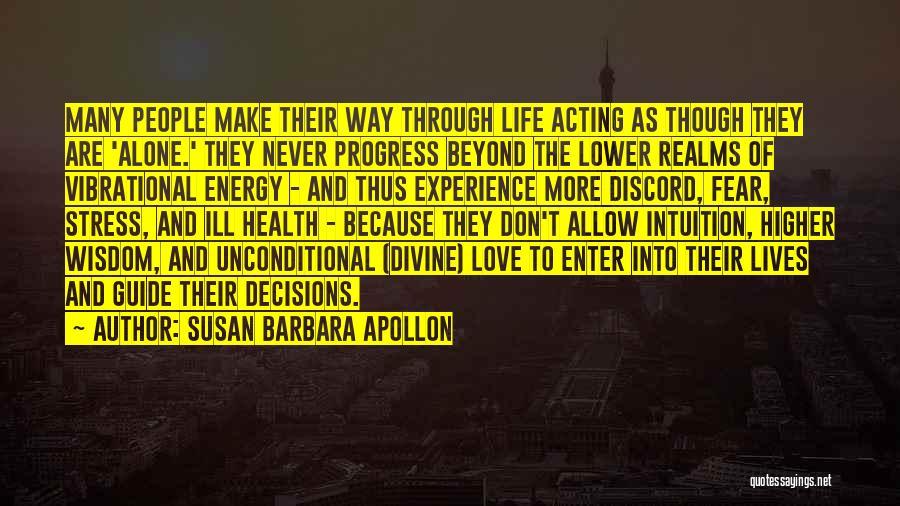 Spiritual Energy Healing Quotes By Susan Barbara Apollon