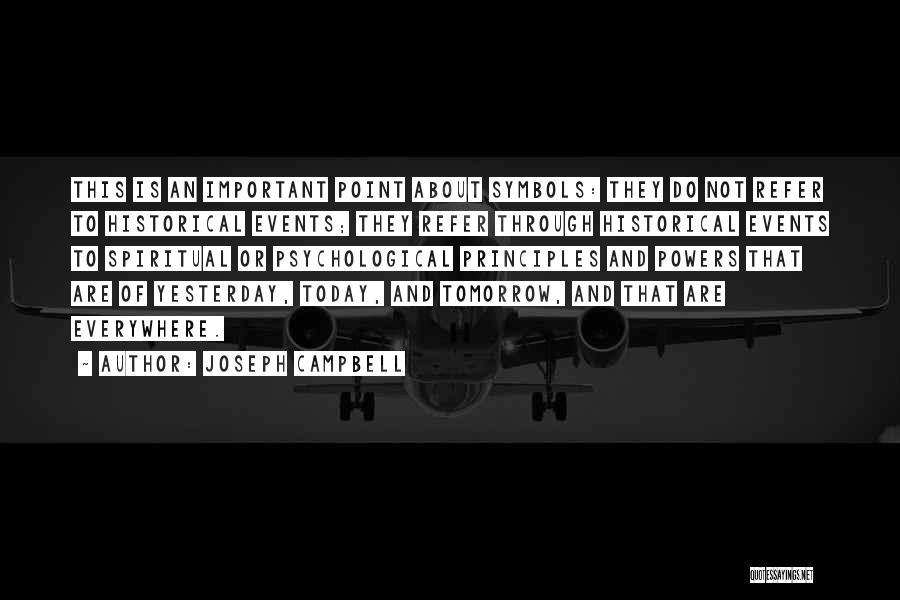 Spiritual Principles Quotes By Joseph Campbell