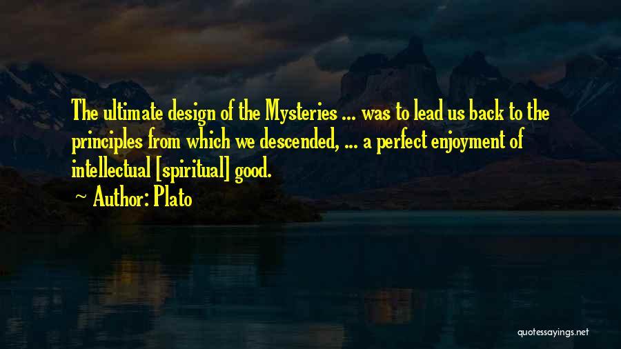Spiritual Principles Quotes By Plato