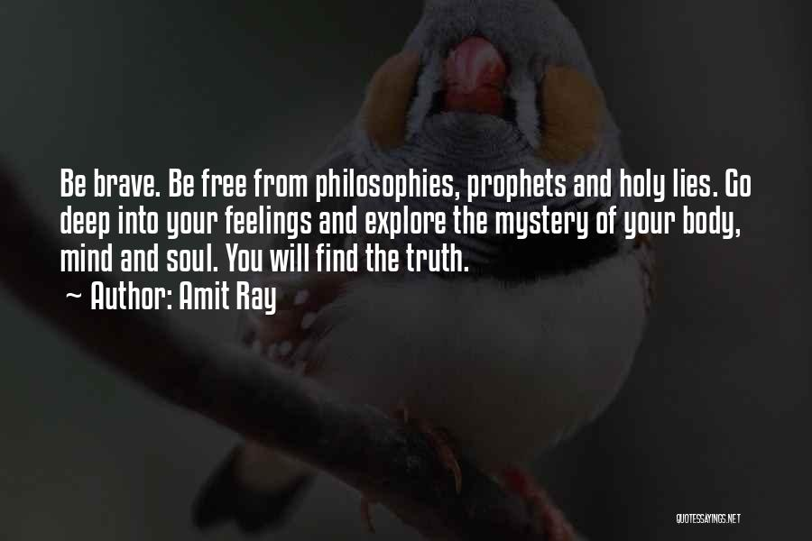 Spirituality And Religion Quotes By Amit Ray