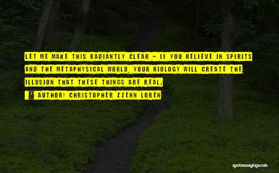 Spirituality And Religion Quotes By Christopher Zzenn Loren