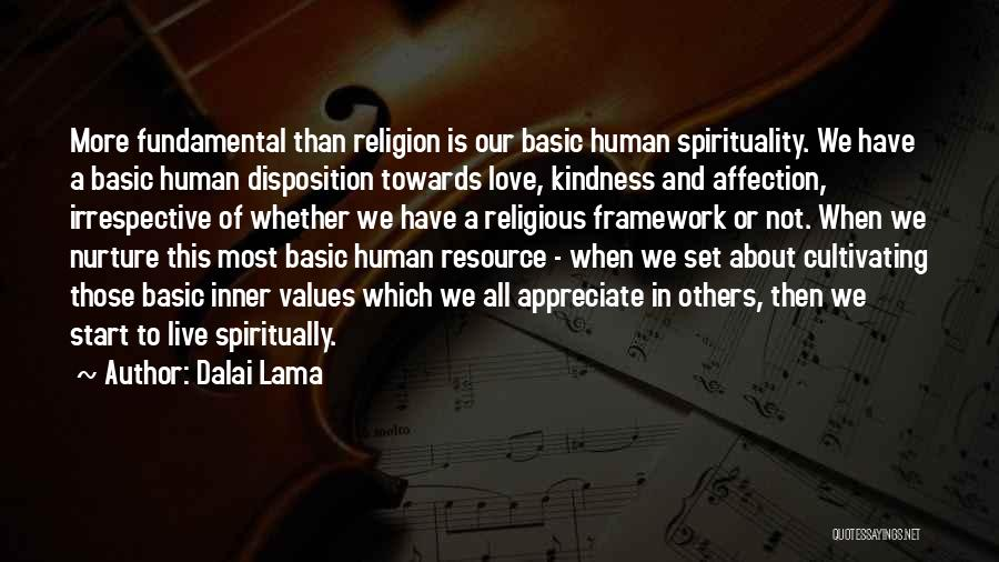 Spirituality And Religion Quotes By Dalai Lama