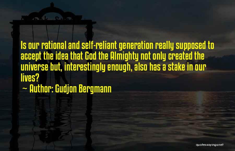 Spirituality And Religion Quotes By Gudjon Bergmann