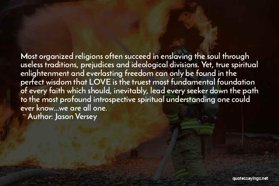 Spirituality And Religion Quotes By Jason Versey