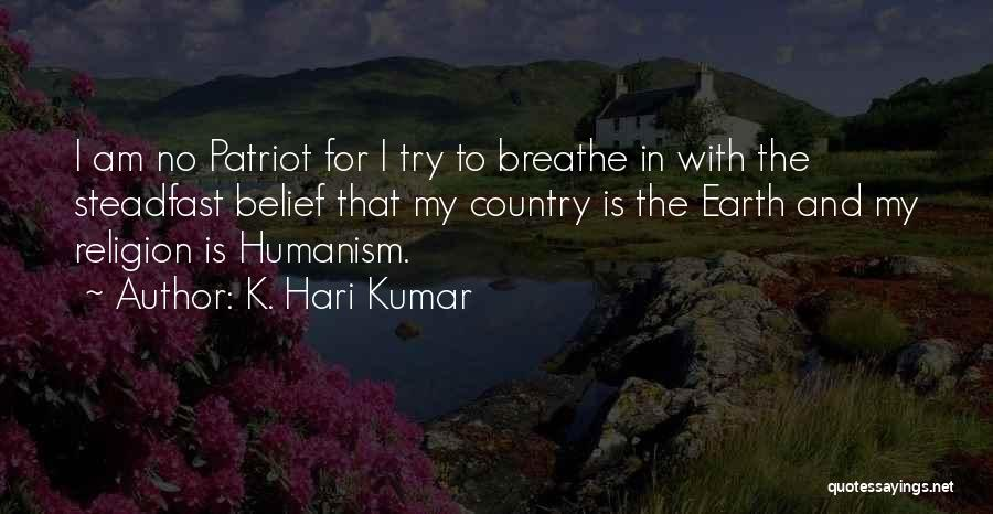 Spirituality And Religion Quotes By K. Hari Kumar