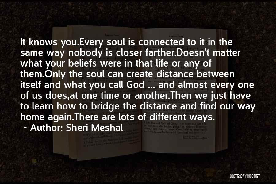 Spirituality And Religion Quotes By Sheri Meshal