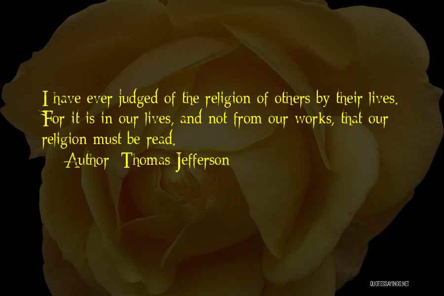 Spirituality And Religion Quotes By Thomas Jefferson