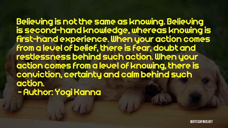 Spirituality And Religion Quotes By Yogi Kanna