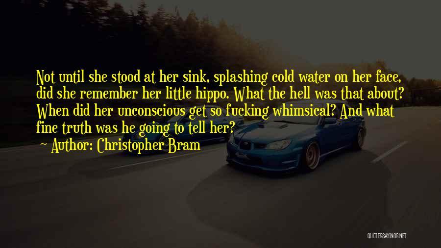 Splashing Water Quotes By Christopher Bram