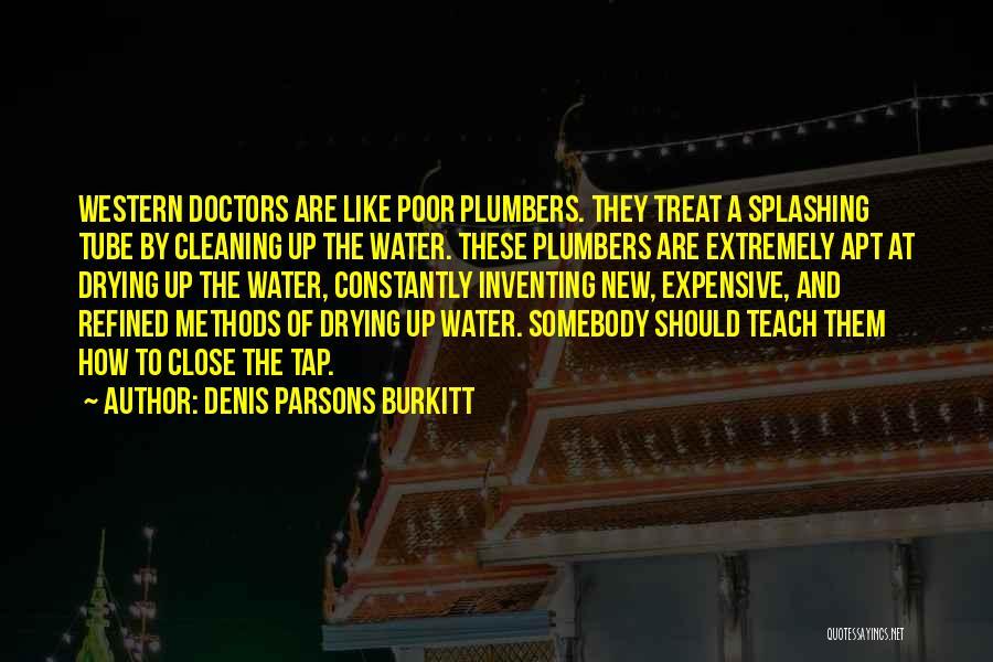 Splashing Water Quotes By Denis Parsons Burkitt