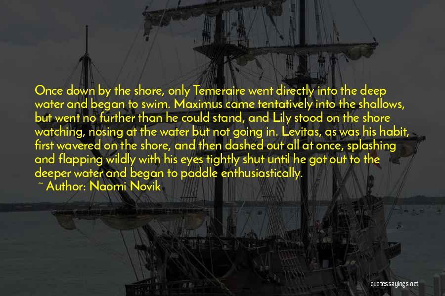Splashing Water Quotes By Naomi Novik