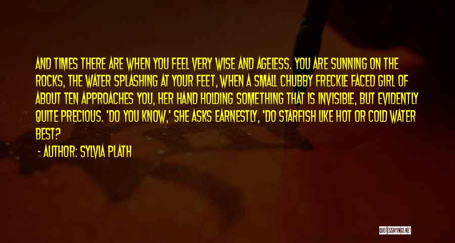 Splashing Water Quotes By Sylvia Plath