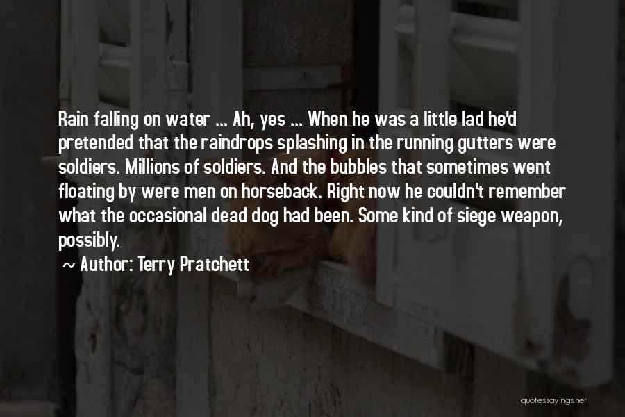 Splashing Water Quotes By Terry Pratchett