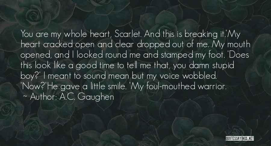 Spoiler Quotes By A.C. Gaughen