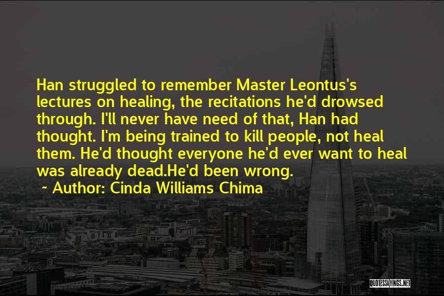 Spoiler Quotes By Cinda Williams Chima