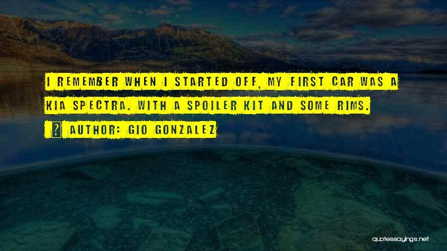 Spoiler Quotes By Gio Gonzalez