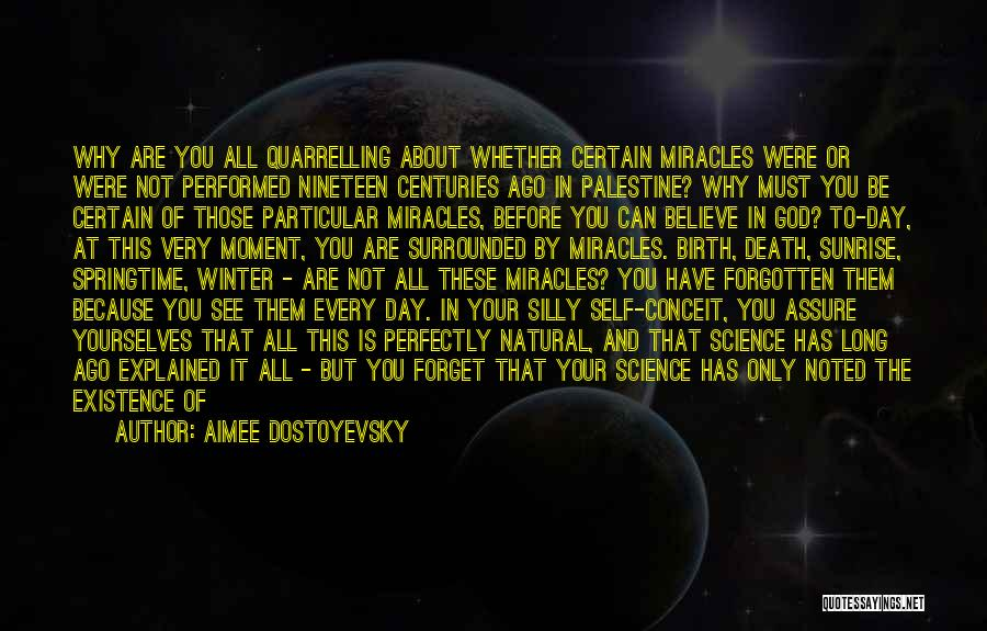 Springtime Quotes By Aimee Dostoyevsky