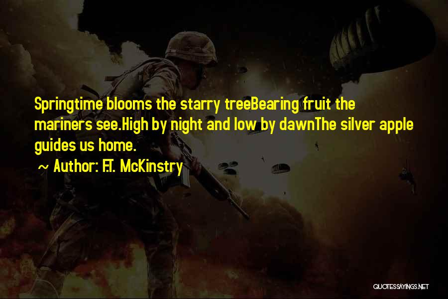 Springtime Quotes By F.T. McKinstry