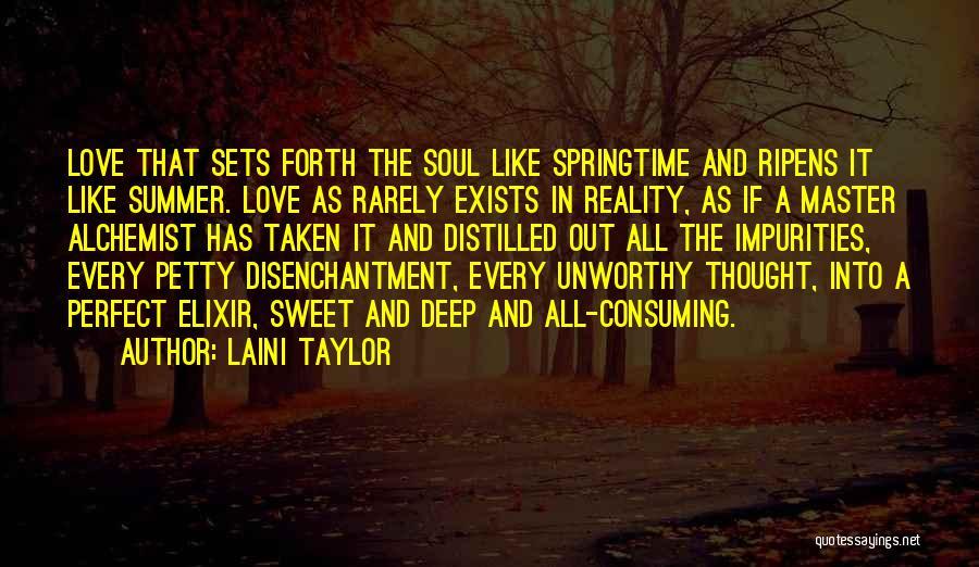Springtime Quotes By Laini Taylor