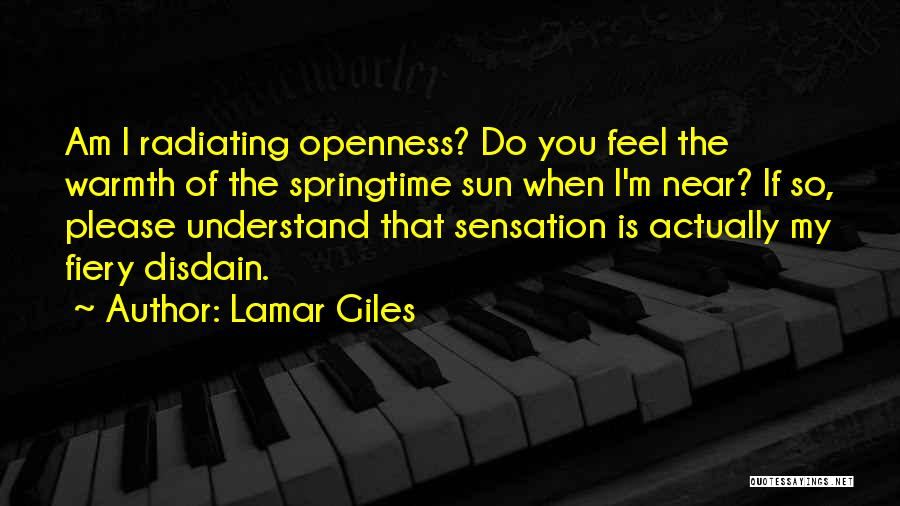 Springtime Quotes By Lamar Giles