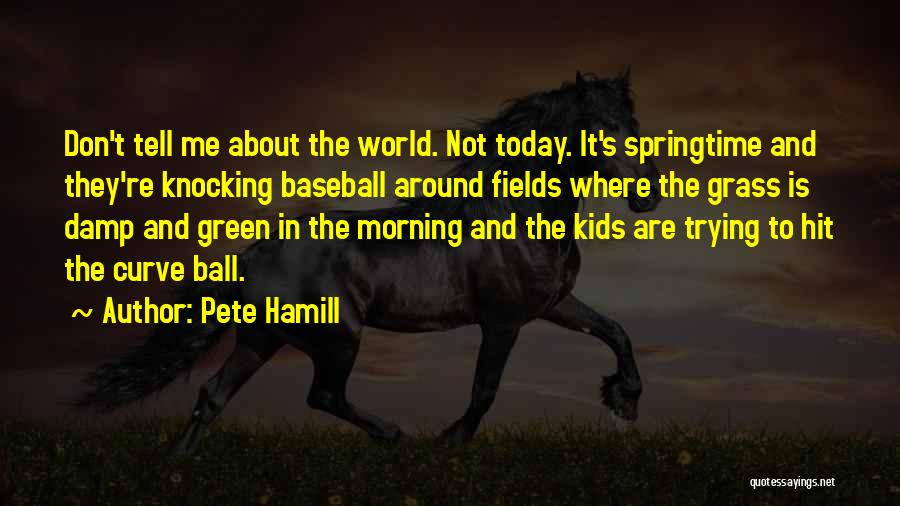 Springtime Quotes By Pete Hamill