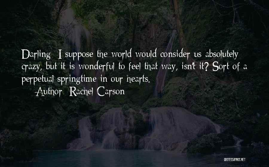 Springtime Quotes By Rachel Carson