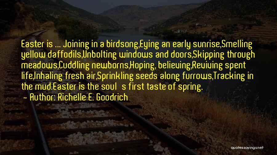 Springtime Quotes By Richelle E. Goodrich