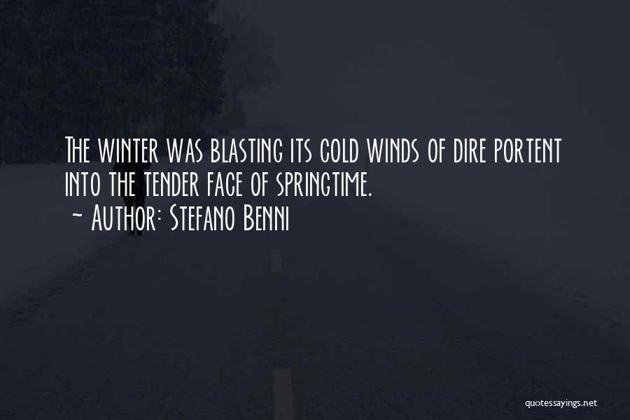 Springtime Quotes By Stefano Benni