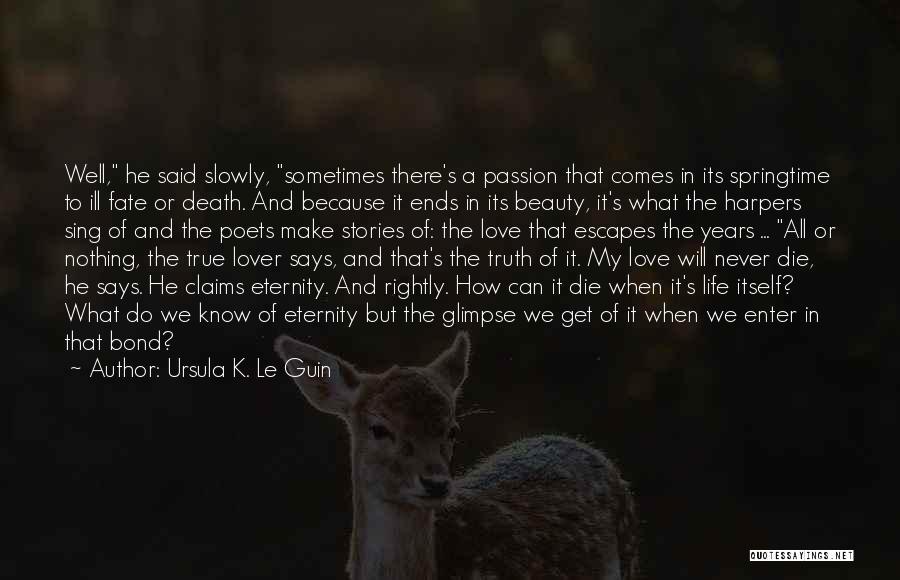 Springtime Quotes By Ursula K. Le Guin