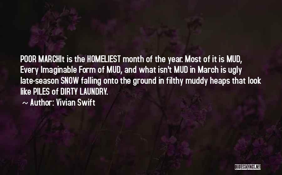 Springtime Quotes By Vivian Swift