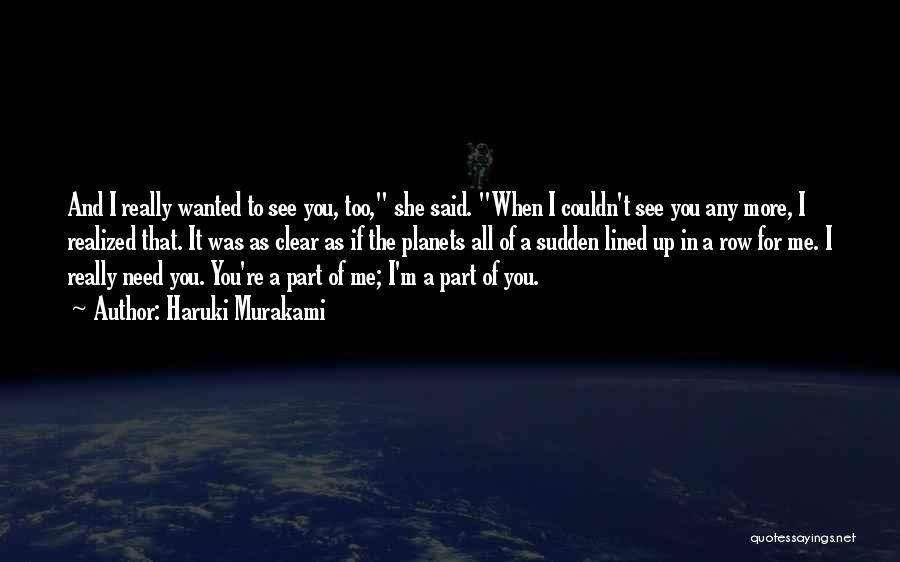 Sputnik Love Murakami Quotes By Haruki Murakami