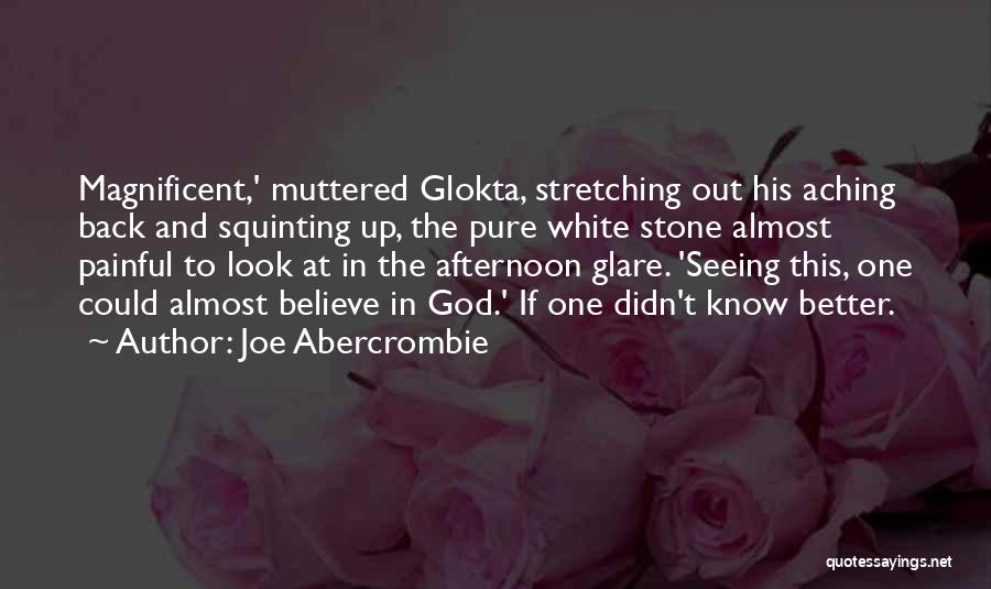 Squinting Quotes By Joe Abercrombie