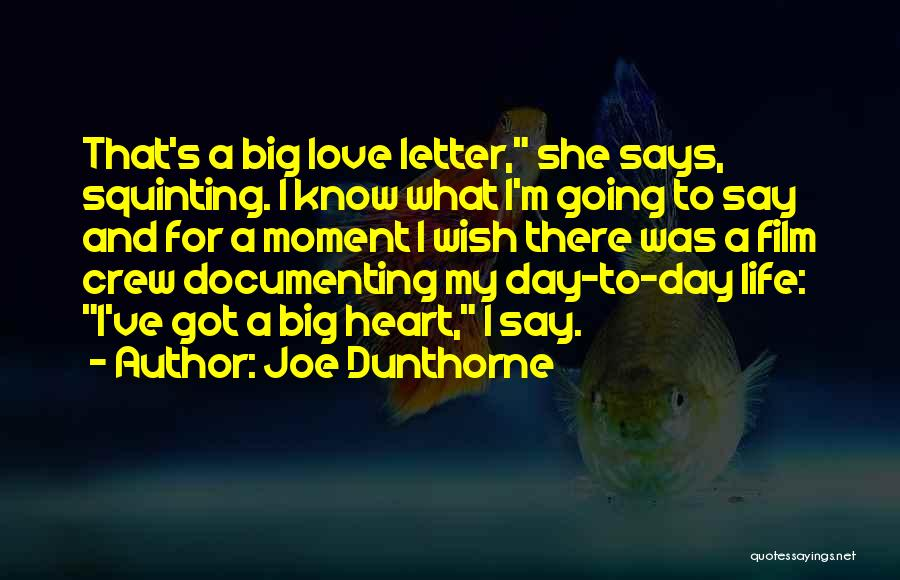 Squinting Quotes By Joe Dunthorne