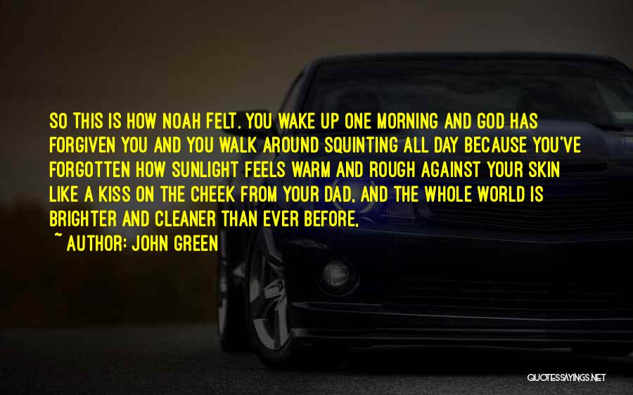 Squinting Quotes By John Green