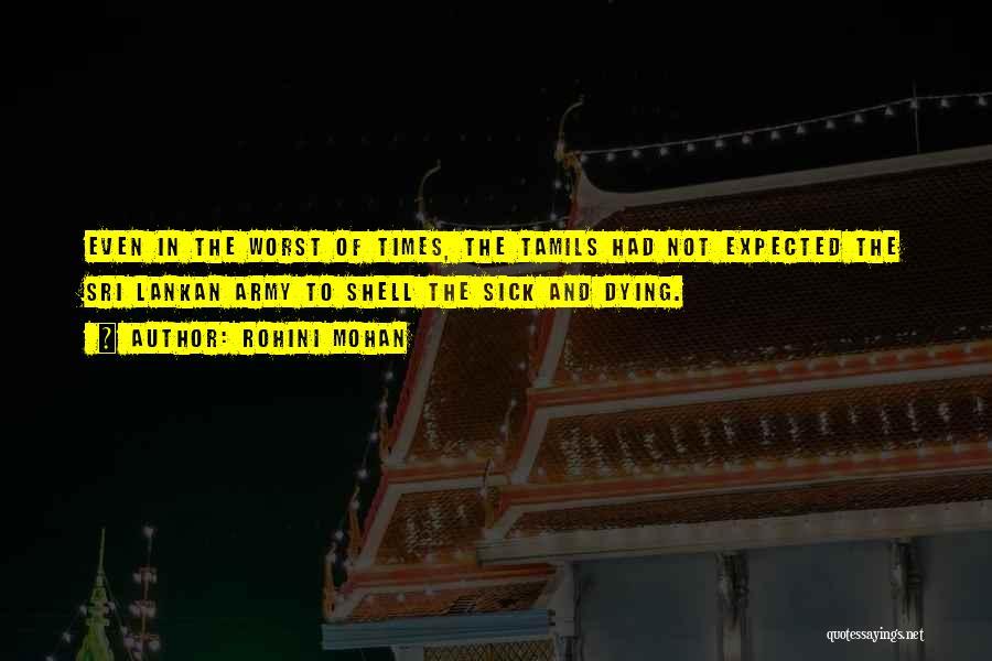 Sri Lankan Quotes By Rohini Mohan