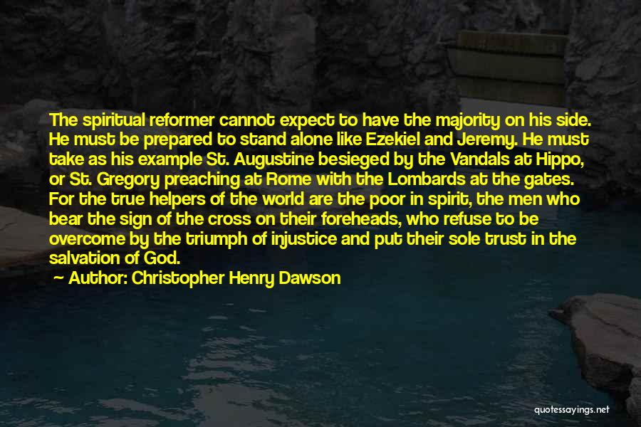 St. Augustine Of Hippo Quotes By Christopher Henry Dawson