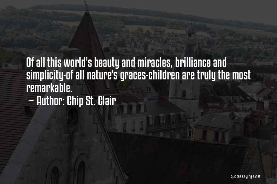 St Clair Quotes By Chip St. Clair