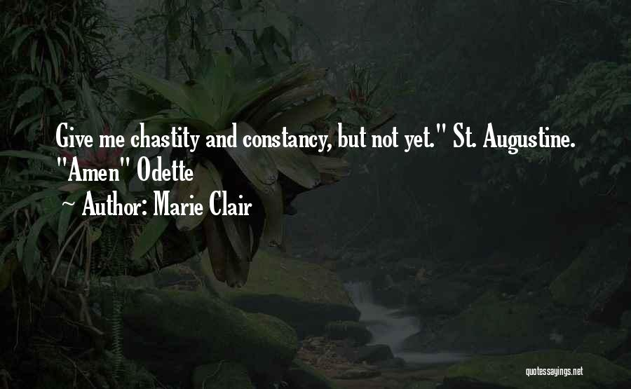 St Clair Quotes By Marie Clair