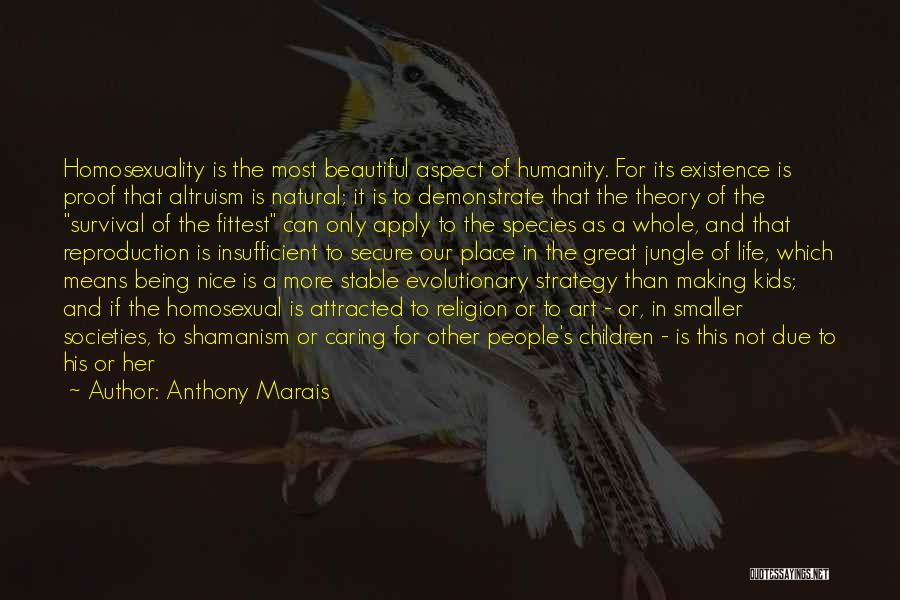 Stable Life Quotes By Anthony Marais
