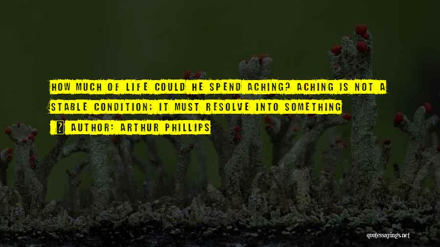 Stable Life Quotes By Arthur Phillips
