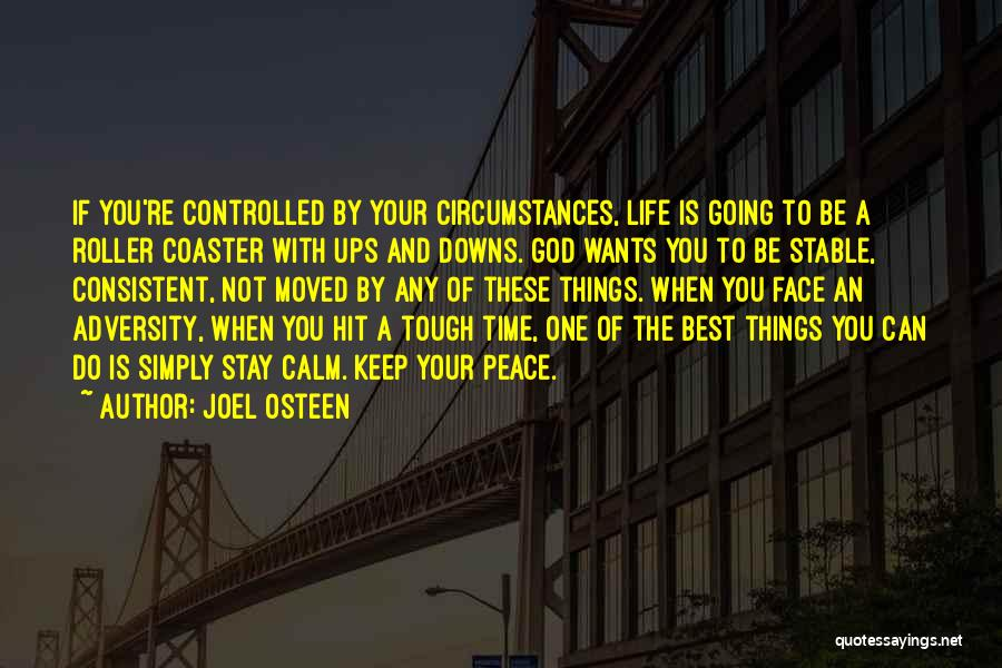 Stable Life Quotes By Joel Osteen