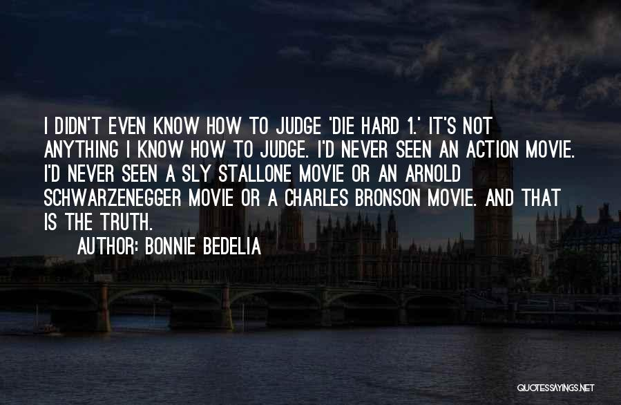 Stallone Movie Quotes By Bonnie Bedelia
