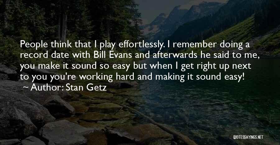 Stan Getz Quotes 231730
