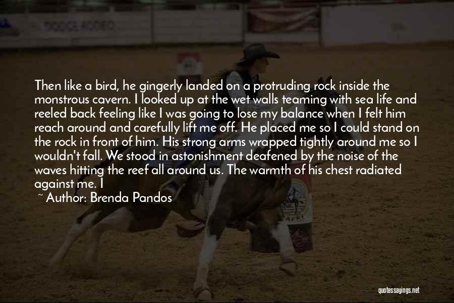 Stand Like A Rock Quotes By Brenda Pandos