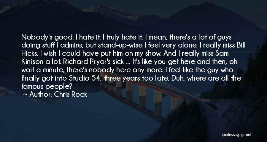 Stand Like A Rock Quotes By Chris Rock